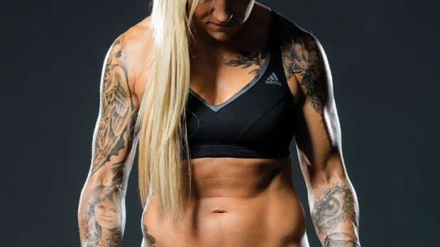 Canadian bobsledder Kaillie Humphries.