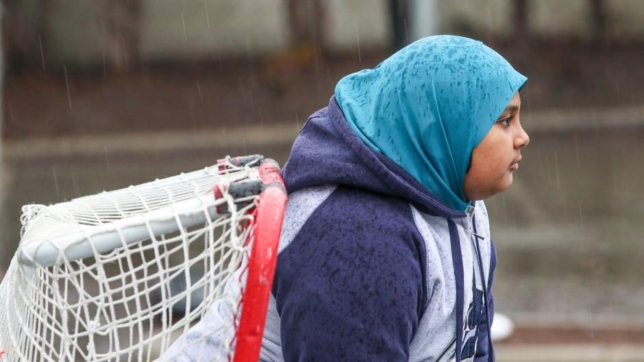 Arianna Ali, 9, Surrey Muslim School