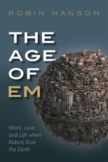 Singularity - The Age of Em book cover