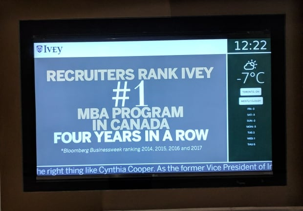 Ivey business school recruitment