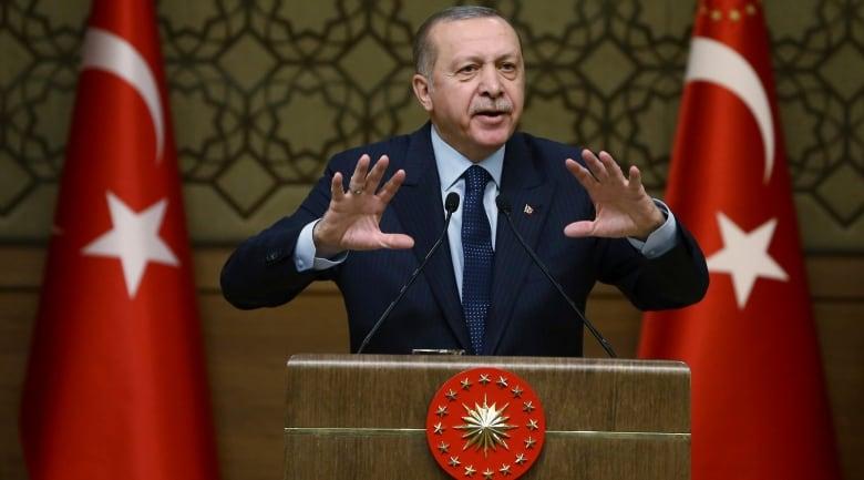 Turkey: Erdogan pledges boycott on US electronics