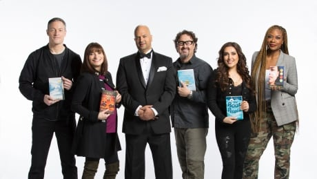 Canada Reads 2018: panellists with host