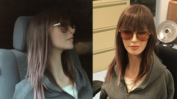 The mannequin even fooled some staff at the detachment where it was being temporarily held as evidence.