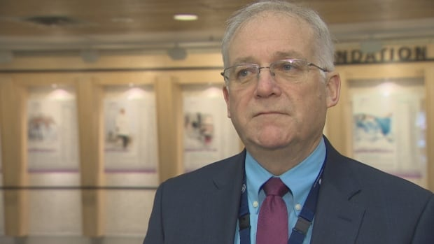 Dr. Mark Taylor, Executive Medical Director for the central zone of the Nova Scotia Health Authority