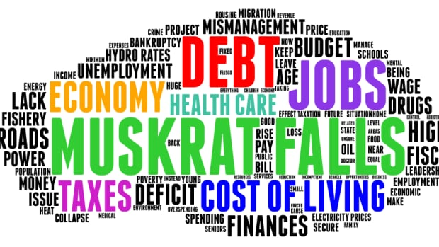 This word cloud indicates the concerns of those surveyed.