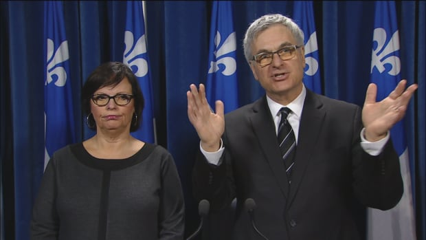 Lucie Charlebois and Jean-Marc Fournier