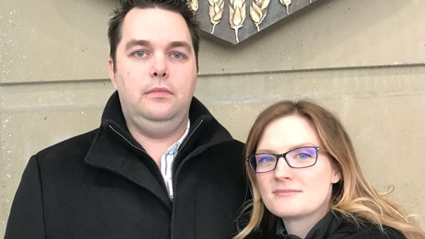 Dan and Jen Woolfsmith lost their daughter Mackenzy in 2012 when she was fatally injured by a day home operator, who later pleaded guilty to manslaughter. They have been attending a fatality inquiry into the toddler's death this week.