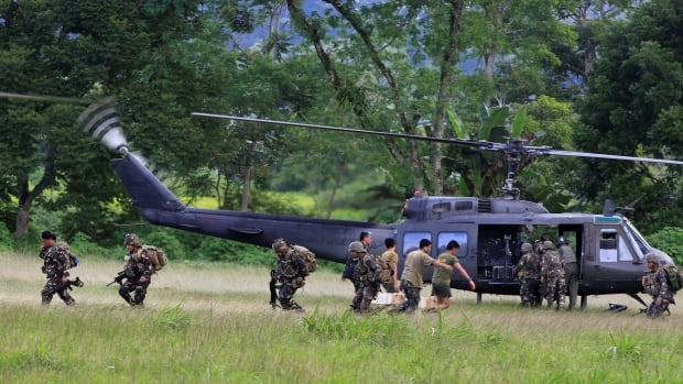 Sale of Canadian helicopters to Philippine military prompts human-rights concerns