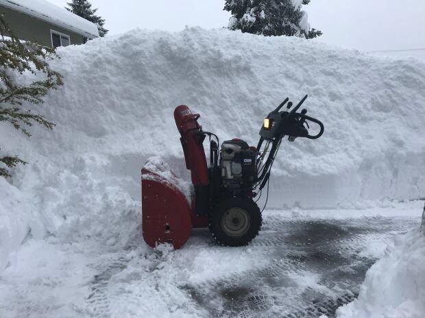 Simon Camish snowblower