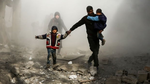 Last week was one of the bloodiest in the nearly seven-year-old conflict as Syrian government forces, backed by Russia and Iran, bombarded two of the last major rebel areas: Eastern Ghouta and the northwestern province of Idlib.