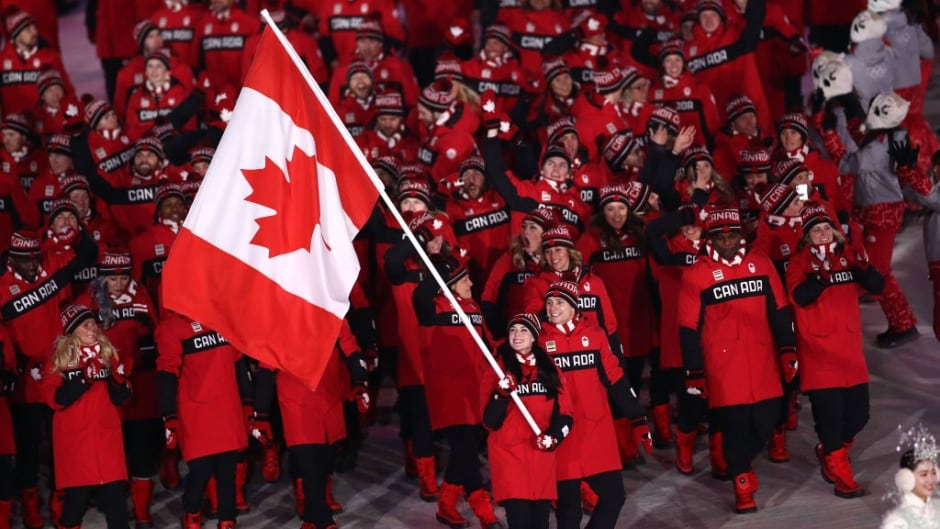 Team Canada at the opening ceremony in Pyeongchang. This year, Canada House will double as Pride House, offering a  space for LGBT athletes from all competing countries.