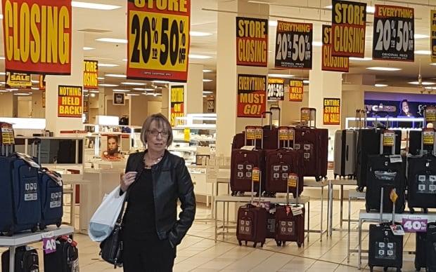 Gail McClelland Sears Canada retiree