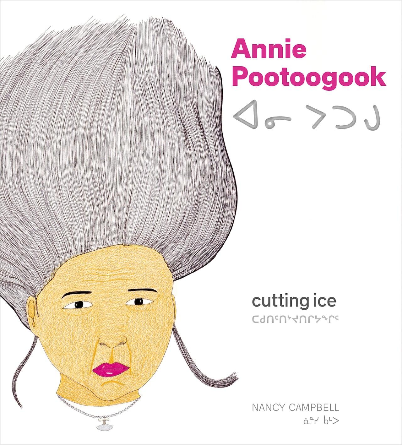 Annie Pootoogook Cutting Ice
