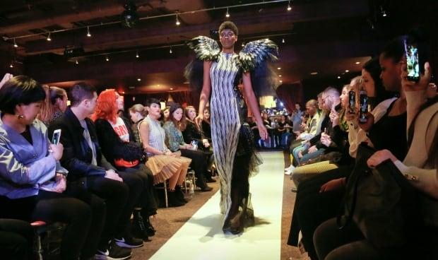 APTOPIX NY Fashion Week Me Too