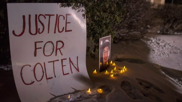 Protests erupt after farmer acquitted in Colten Boushie death
