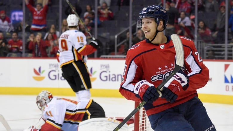 40e1c5be044 Washington Capitals centre Lars Eller has 96 goals and 113 assists across  576 NHL games with the St. Louis Blues