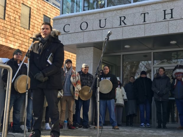 Boushie family lawyer Chris Murphy