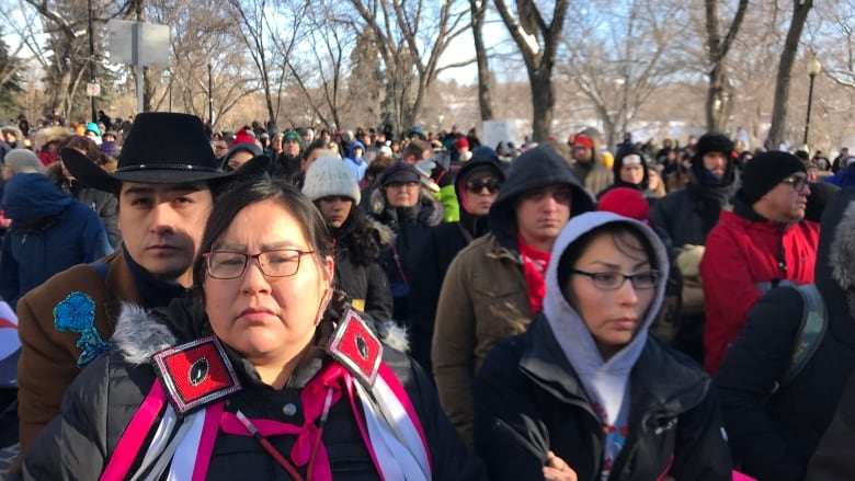 Justice for Colten   Hundreds gather for Boushie support rally in  Saskatoon after Stanley not-guilty verdict a472742bd9cd