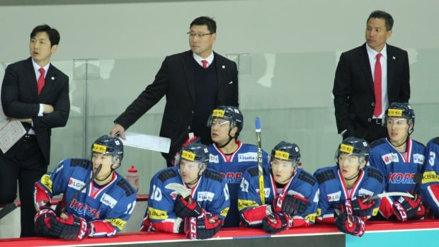 The Korean men's hockey team includes Canadian-born players.