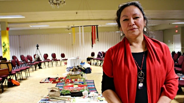 Miigam'agan is St. Thomas University's Elder-in-Residence who helped organize this weekend's Traditional Elders Gathering.
