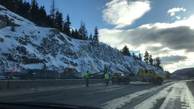 Coquihalla closed northbound between Hope and Merritt after crash