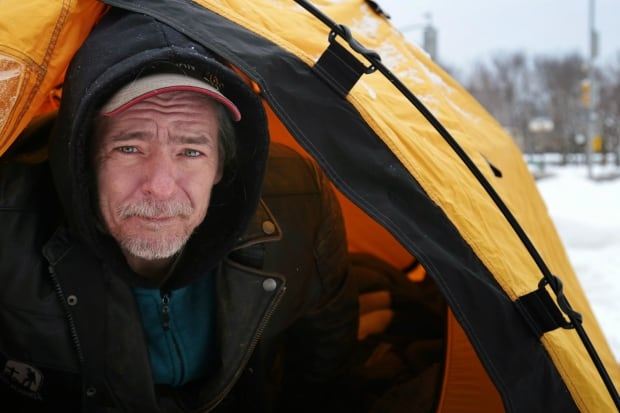 Former soldiers camp out in Ottawa to demand respect, better services Trevor-sanderson
