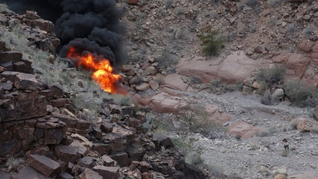 Honeymooner is fifth to die after Grand Canyon helicopter crash