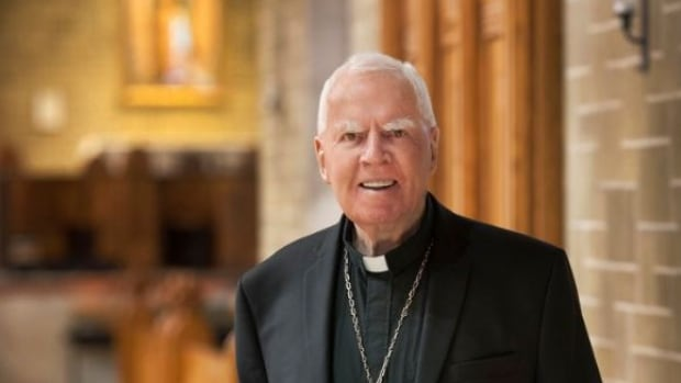 Former Archbishop Joseph MacNeil died Sunday at the Grey Nuns hospital after suffering a stroke.