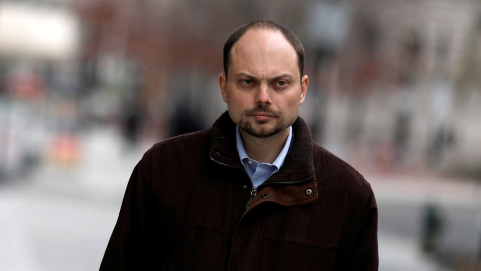Vladimir Kara-Murza has been close to death twice in recent years, following poisonings that doctors were unable to trace.