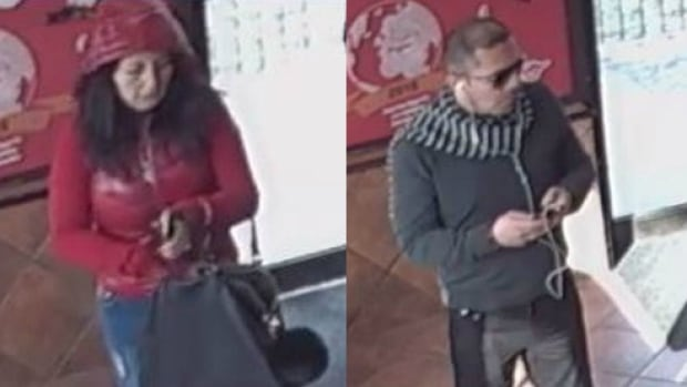 Toronto police are asking for the public's help in identifying this man and woman wanted for attempted distraction theft.