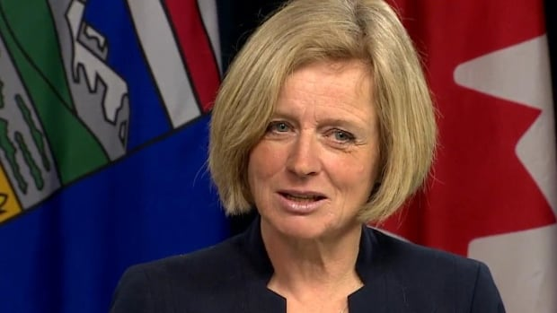 Alberta Premier Rachel Notley told reporters Monday that she's prepared to hold off escalating the trade war with B.C. - at least for now.