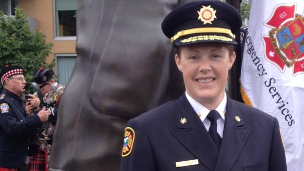 Keri Martens is the first woman elected to the Canadian Association of Fire Chiefs board.