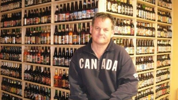 All 4,300 bottles in Tony Matheson's basement in North Bay are full of beer. He also has another 3,000 extras or duplicates that are not on display.
