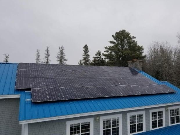 Killarney Lake Lodge new solar panels