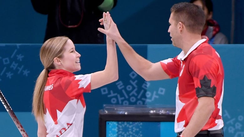 Canada's Lawes, Morris win mixed doubles curling gold | News | CBC Olympics | PyeongChang 2018