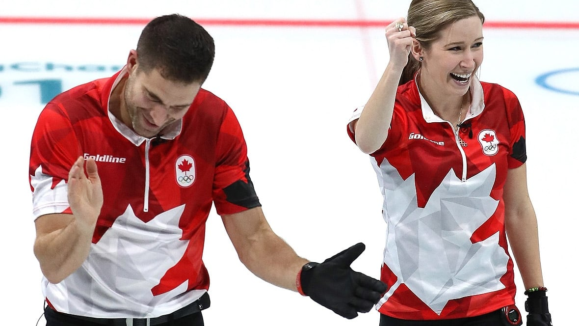 Lawes, Morris win mixed doubles curling gold