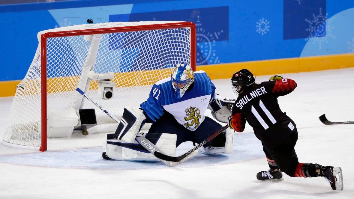 Nova Scotia's Jillian Saulnier Scores In Team Canada Win