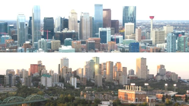 Calgary and Edmonton continue to grow, but not as quickly as they once were, according to Statistics Canada projections.