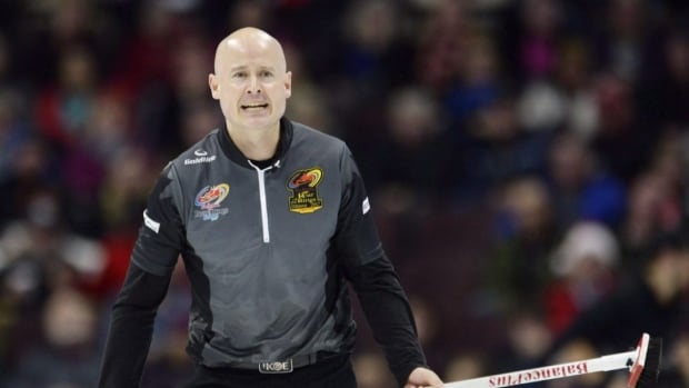 Canada's Kevin Koe begins his quest for curling gold Wednesday with an opening match against Italy.