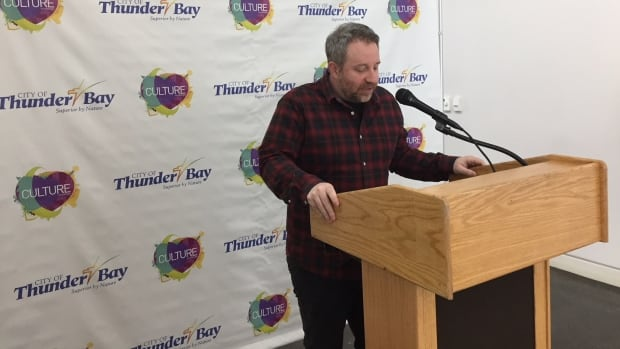 Ash Young, City of Thunder Bay Cultural Development and Events Supervisor, announces SnowDay on the Waterfront. This year's event will take place on Family Day.