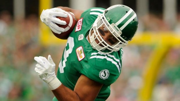 Saskatchewan Roughriders wide receiver Nic Demski is joining his hometown Winnipeg Blue Bombers.