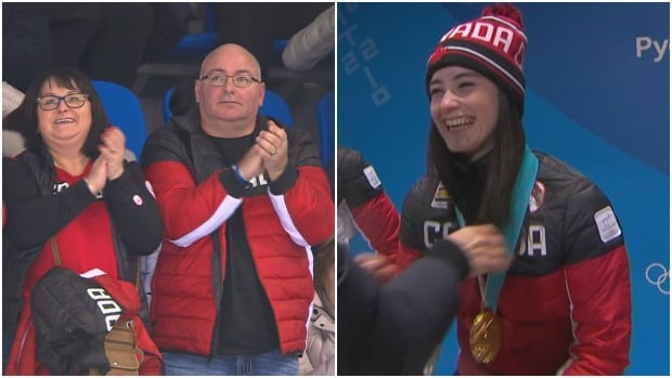 Kaetlyn Osmond's parents Jeff and Jackie Osmond are thrilled with her success thus far at the Winter Olympics.