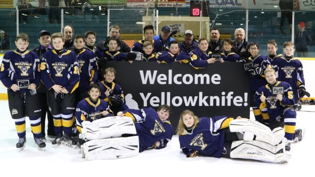 The Yellowknife Wolfpack Peewee team was one of only seven teams selected from over 40 applicants to attend the Vernon Coca-Cola Classic Invitational last weekend.