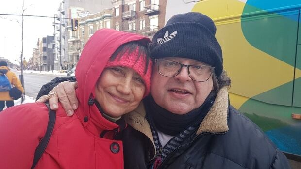 Antoinette Mintcheva and Patrick Tamas met a decade ago, when they were living in the same high-rise. They're celebrating Valentine's Day with Chinese food and a bottle of wine.