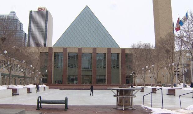 City hall rink