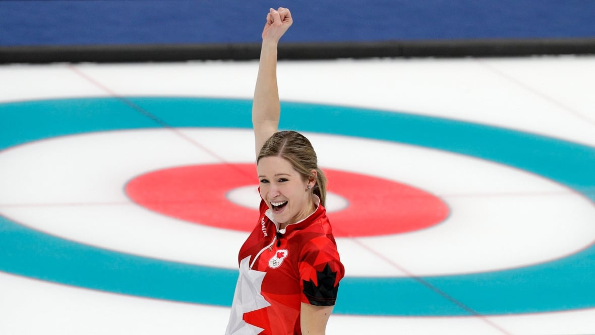 'This one's for everyone back home,' says Winnipegger Kaitlyn Lawes after Olympic gold medal