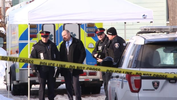 Windsor Police investigate death of a man in 900-block of Church Street on Feb. 14.