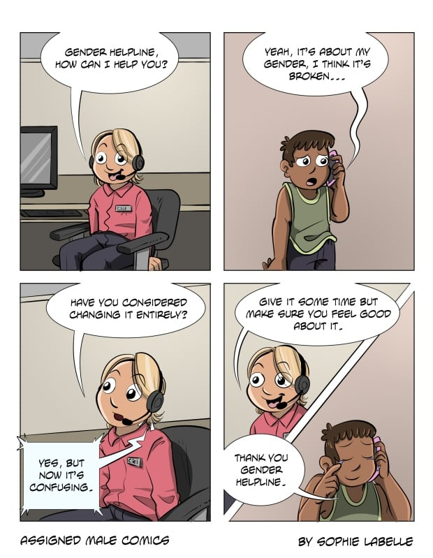 Assigned Male Comics Sophie Labelle