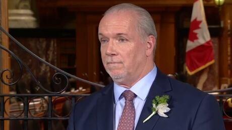 B.C. Premier John Horgan, Feb. 13, 2018