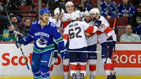 Panthers Hold On To Edge Canucks
